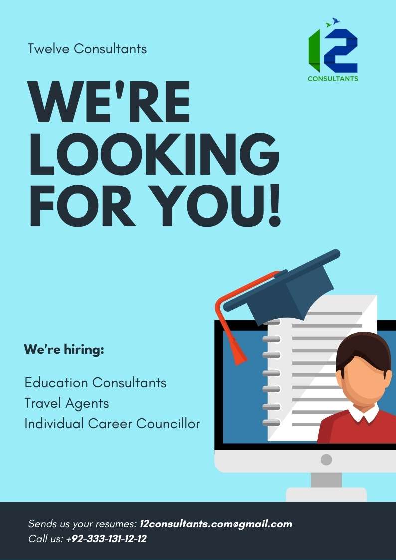 ceo_image_Turquoise Computer Illustration Hiring Poster